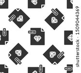 grey ruby file document.... | Shutterstock .eps vector #1509044369