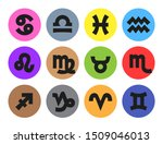 zodiac horoscope signs  great... | Shutterstock .eps vector #1509046013