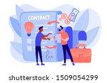 quality assurance. business... | Shutterstock .eps vector #1509054299