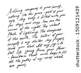 handwritten abstract text... | Shutterstock .eps vector #1509121439
