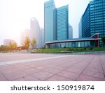 the modern building of the... | Shutterstock . vector #150919874