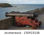 An Old Gun On The Walls Of St....