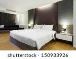 Stock photo luxury modern hotel room bangkok thailand 150933926