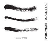 brush strokes watercolor... | Shutterstock .eps vector #1509371573