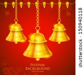 Illustration Of Temple Bell...