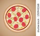 pizza   Shutterstock .eps vector #150943268