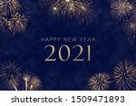 Happy New Year 2021 Silvester...
