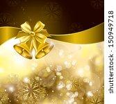 christmas background. vector... | Shutterstock .eps vector #150949718
