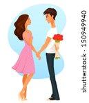 cute cartoon illustration of a...   Shutterstock .eps vector #150949940