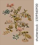 vintage rendered illustration... | Shutterstock .eps vector #1509560930