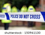 crime scene investigation... | Shutterstock . vector #150961130