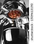 A Coffee Machine Is Preparing A ...
