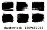 black brush strokes.abstract...   Shutterstock .eps vector #1509651083