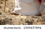 Prophet Legs Walking On Sand ...