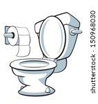 toilet | Shutterstock .eps vector #150968030