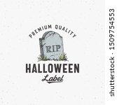 Premium Vintage Style Hallowee...