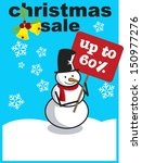 christmas sale | Shutterstock .eps vector #150977276