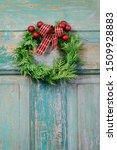 Traditional Christmas Door...
