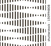 seamless monochrome geometric... | Shutterstock .eps vector #150994808