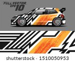 car wrap decal graphics.... | Shutterstock .eps vector #1510050953