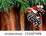 Pine Cones With Bows
