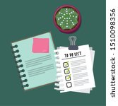 checklist clipboard with... | Shutterstock .eps vector #1510098356