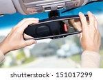 Car Mirror. Auto Dealership...