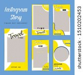 travel special instagram story...   Shutterstock .eps vector #1510202453