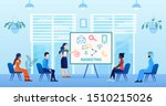 a multicultural group is... | Shutterstock .eps vector #1510215026