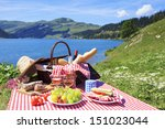 Picnic In French Alpine...