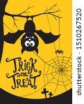 halloween party banner layout...   Shutterstock .eps vector #1510267520