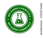 no harsh chemical logo or badge ... | Shutterstock .eps vector #1510271666