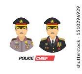set illustration of two police... | Shutterstock .eps vector #1510296929