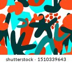 vivid abstract seamless pattern ... | Shutterstock .eps vector #1510339643