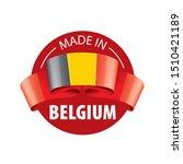 belgium flag  vector... | Shutterstock .eps vector #1510421189