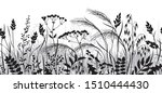 seamless horizontal border made ...   Shutterstock .eps vector #1510444430