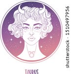 illustration of taurus... | Shutterstock .eps vector #1510497956