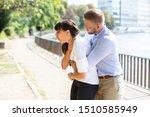 Man Helping Choking Woman To...