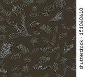 seamless pattern for autumn... | Shutterstock .eps vector #151060610