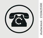 phone icon vector sign symbol...