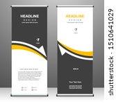 roll up banner vertical...   Shutterstock .eps vector #1510641029