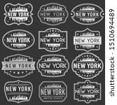 new york city skyline. premium... | Shutterstock .eps vector #1510694489