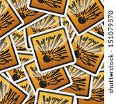 danger  hazard sign  icon... | Shutterstock .eps vector #151079570