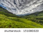 Dramatic Views Of The Hills Of...