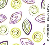 seamless pattern with geometric ... | Shutterstock .eps vector #1510813490