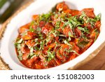 beef stew with vegetables | Shutterstock . vector #151082003