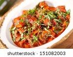 beef stew with vegetables | Shutterstock . vector #151082003