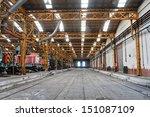 Industrial Building Interior...