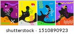 set of creative card  cover and ...   Shutterstock .eps vector #1510890923