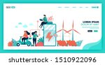 green energy and more... | Shutterstock .eps vector #1510922096